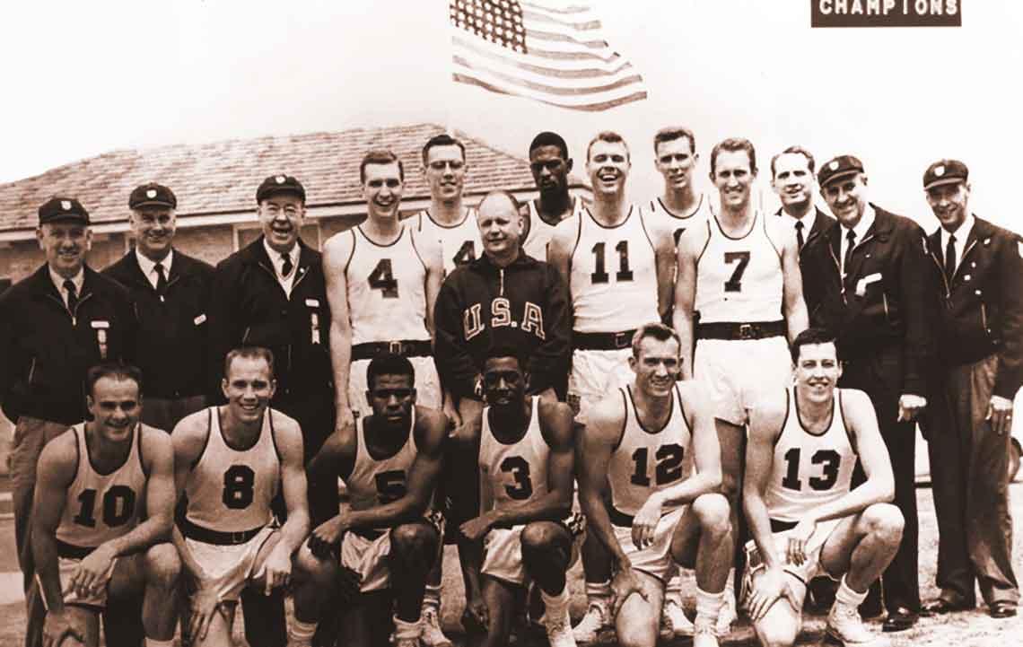 USA Team 1956 Olympics Australia