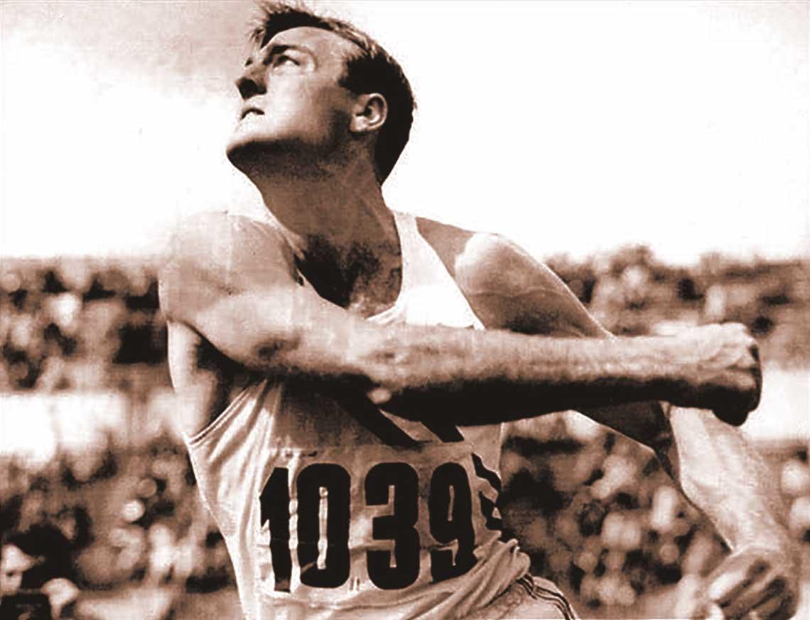 Olympic Decathlon Champion Bob Mathias