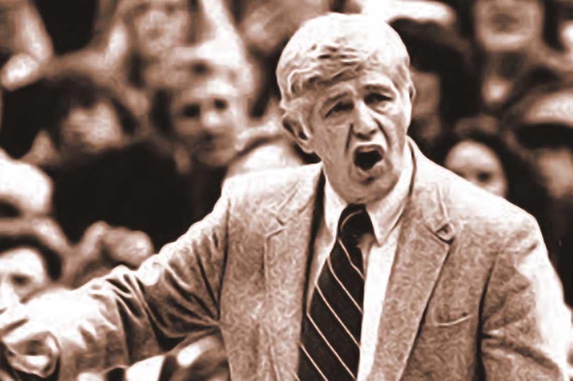 Coach Marv Harshman