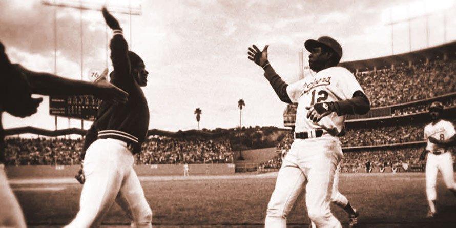 Glen Burke And Dusty Baker